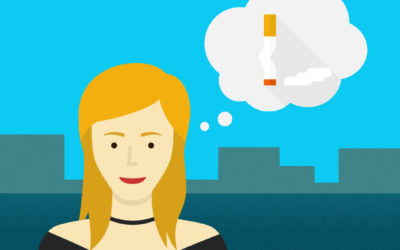 How can even a heavy smoker quit and can the Adiquit app help?